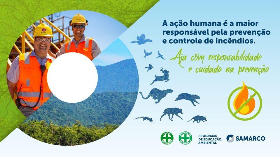 Campanha interna da Samarco de prevenção a incêndios
